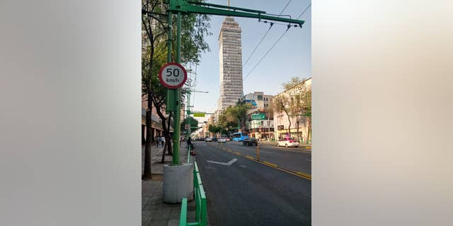The streets in Mexico City are empty after President Andres Manuel López ordered all non-essential activities to be suspended.
