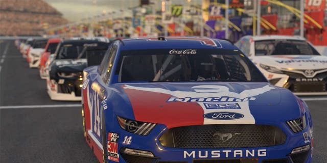 How to watch NASCAR stars face off in iRacing on Sunday