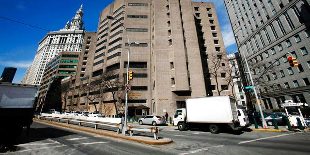 The Metropolitan Correctional Center in New York City.聽