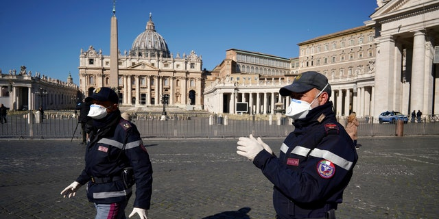 Westlake Legal Group AP20071371349958 Catholic churches ordered to close across Rome due to coronavirus fox-news/world/world-regions/italy fox-news/world/religion fox-news/health/infectious-disease/coronavirus fox news fnc/health fnc David Aaro article 53f350ff-dffb-5acd-afd7-11a7f188adfb
