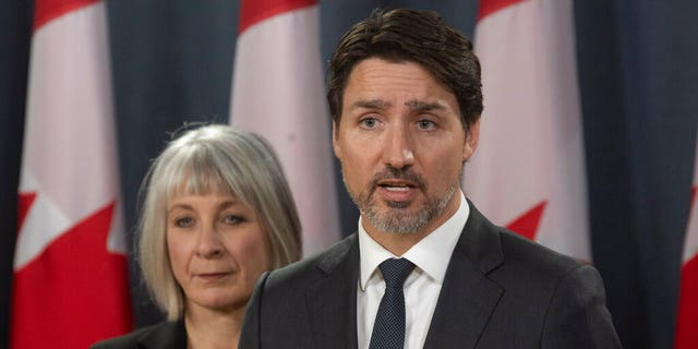 Canadian Prime Minister Justin Trudeau's wife tested for coronavirus