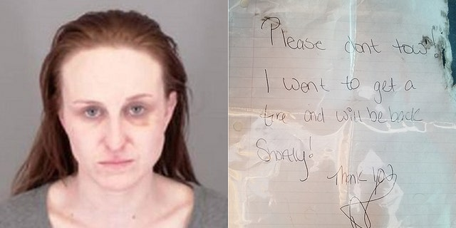 Amber Carey is one half of the duo Arvada police say stole a vehicle in Denver.