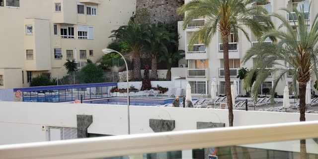 The couple and members of their tour are quarantined at the four-star Sol Melia Hotel in Torremolinos, a holiday resort near Malaga.