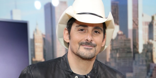 A painting of Brad Paisley is now included on the famous Nashville mural in Music City where Taylor Swift used to be.
