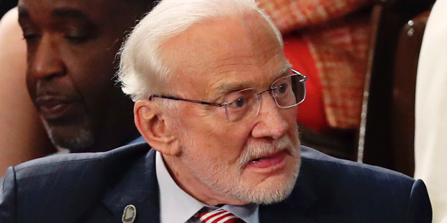 Former astronaut Buzz Aldrin. (Associated Press)