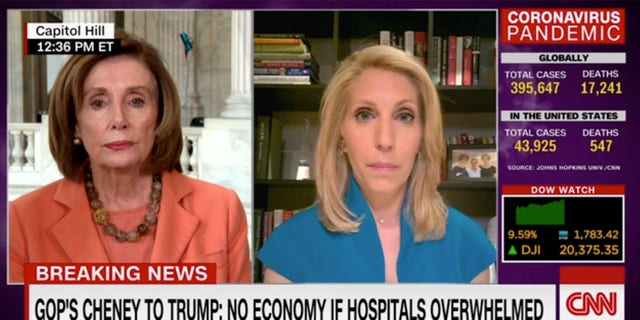 House Speaker Nancy Pelosi was not asked about her daughter's controversial tweet during an interview with CNN's Dana Bash.