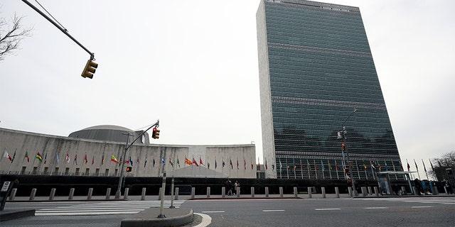 Philippine diplomat is 1st coronavirus case at UN HQ