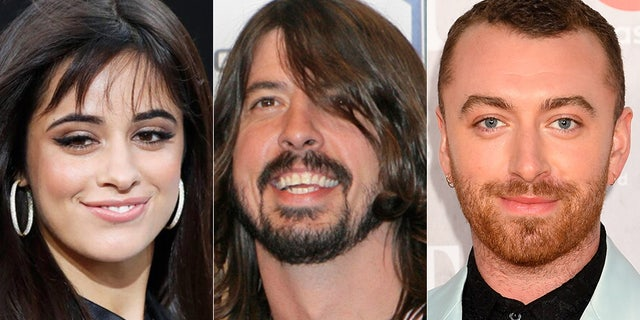 "Camila Cabello, Dave Grohl, Sam Smith are just some of the artists who will perform on ""FOX Presents the iHeart Living Room Concert for America."""