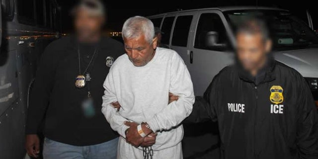 Gilberto Jordan, 64, a former Guatemalan soldier who admitted to participating in a massacre of unarmed men, woman and children nearly four decades ago, was deported back to his country Tuesday.