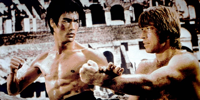 Chuck Norris got his start in an on-screen brawl with martial arts master Bruce Lee.