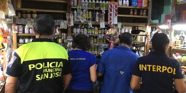In total, around 4.4 million units of illicit pharmaceuticals were seized (Costa Rica)