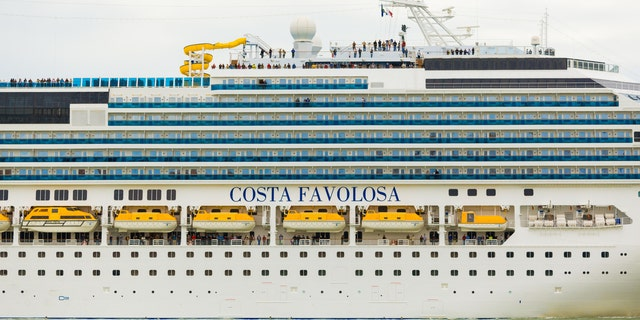The Costa Favolosa (seen here during an earlier voyage) and the Costa Magica had each disembarked passengers that later tested positive for coronavirus.
