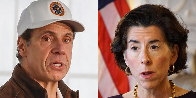 Andrew Cuomo D-N.Y.,  is threatening to sue Rhode Island after Gov. Gina Raimondo D-R.I., issued the drastic new policies to limit the spread of the virus
