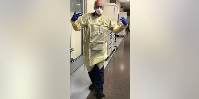 Dr. Damian Caraballo, a Tampa emergency room physician, was quarantined after treating COVID-19 patients. He had to wait 6.5 days for his test results to come back negative.