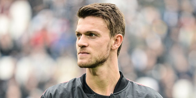 Italian soccer club Juventus announced that defender Daniele Rugani has tested positive for coronavirus. (Alberto Gandolfo/Pacific Press/LightRocket via Getty Images, File)