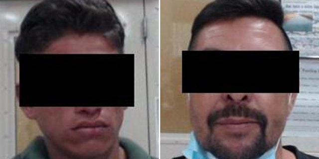 David De Jesus Leiva-Arevalo, 21, a MS1-13 gang member, and Juan Carlos Castanon, 48, a previously deported sex offender were both arrested Wednesday evening by Border agents near the southern border.