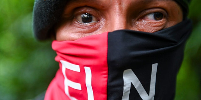 The ELN is Colombia's last rebel army and one of the oldest guerrillas in Latin America. (Raul ARBOLEDA / AFP via Getty Images)