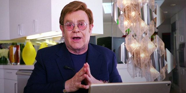 Elton John hosted FOX and iHeartRadio's 'Living Room Concert' which helped raise millions for coronavirus relief.