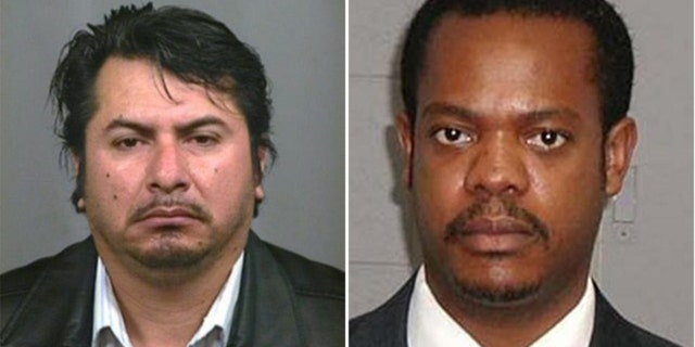 (Left): Gustavo Cruz, 54, a Mexican national and a migrant worker, is wanted for allegedly repeatedly molesting an 11-year-old and recording the attacks on his cell phone in Indianapolis. (Right): Franz Dieudonne, 50, a chemist and nursing assistant from Haiti, is sought for his alleged involvement in sex crimes with a minor, after being indicted in Illinois and Utah.