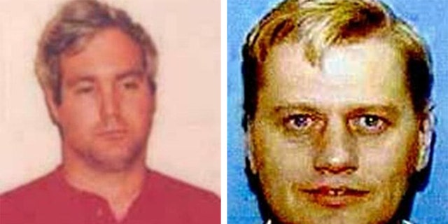 (Left) Anthony Kendall Dewater, 61 was a teacher's aide at a Salem, Ore., elementary school who was charged in 1992 with nine counts of first-degree sexual abuse for allegedly fondling multiple students over a six-month period. (Right) Curtis Lee Brovold, 67, a computer technician, is wanted for his alleged sexual activities with a 14-year-old Minnesota girl he met on the internet in February 2000.
