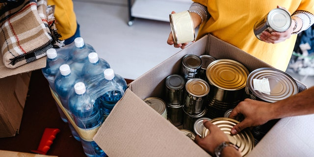 Check with your local food banks and help hotlines to see how they could best use your help.