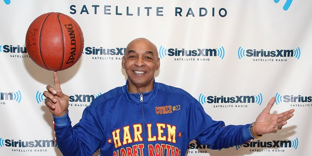 """<br> Harlem Globetrotter Fred """"Curly"""" Neal is seen Feb. 13, 2012 in New York City. (Getty Images)"""