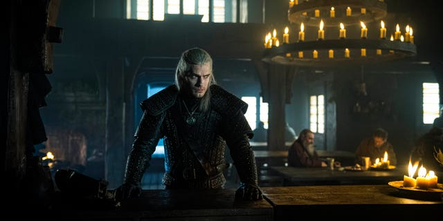 Henry Cavill as Geralt in 'The Witcher.'