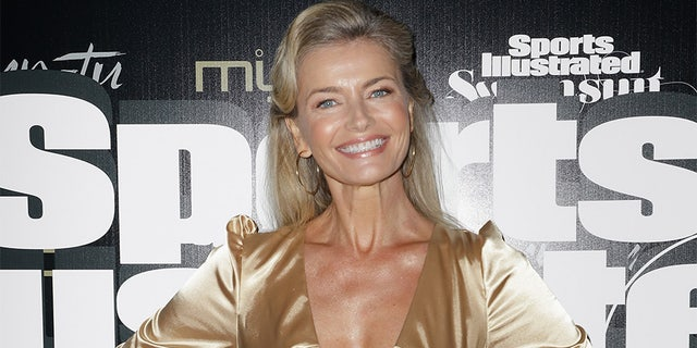 Paulina Porizkova attends the Sports Illustrated Swimsuit Celebrates 2019 Issue Launch at Myn-Tu on May 11, 2019, in Miami, Florida.