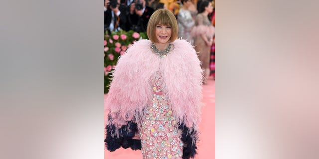 Anna Wintour arrives for the 2019 Met Gala celebrating Camp: Notes on Fashion at The Metropolitan Museum of Art on May 06, 2019 in New York City.
