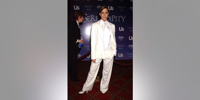 Kate Beckinsale revealed that Harvey Weinstein screamed at her for wearing a suit to the premiere of 'Serendipity' in 2001.