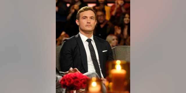 """The Bachelor: Season Finale Part 2"" - Peter, Hannah Ann and Madison appeared live with Chris Harrison to talk about those tumultuous days in Australia and the rollercoaster of events that have happened since. Its all on night two of the two-night, live special, season finale event on ""The Bachelor,"" TUESDAY, MARCH 10 (8:00-10:01 p.m. EDT), on ABC. (John Fleenor via Getty Images)"