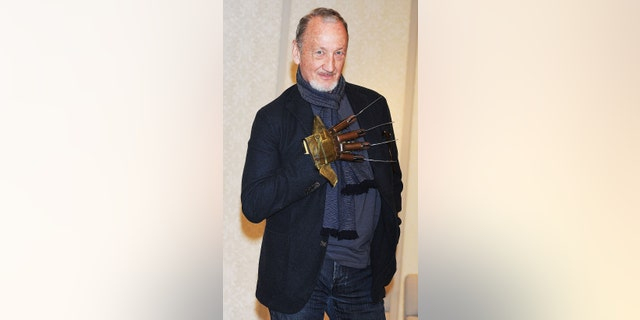 Actor Robert Englund attends the Hollywood Collectors' Convention at Hotel Grand Palace on May 2, 2013, in Tokyo, Japan.