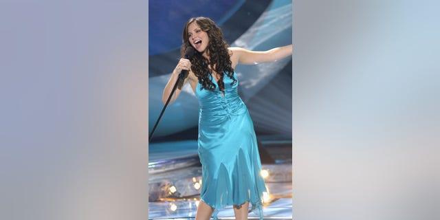 Katharine McPhee on 'American Idol' Season 5.