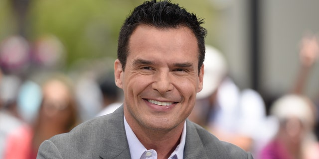 "Antonio Sabato Jr. visits ""Extra"" at Universal Studios Hollywood on June 19, 2018 in Universal City, California."