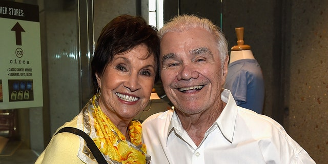 NASHVILLE, TN - SEPTEMBER 05: Jan Howard member of The Grand Ole Opry and Dickey Lee attend The Country Music Hall Of Fame And Museum Honors Dickey Lee As A Poet & Prophet in 2015. (Photo by Rick Diamond/Getty Images for Country Music Hall of Fame and Museum)