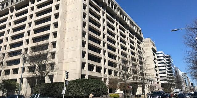 International Monetary Found Main Building in Washington D.C.