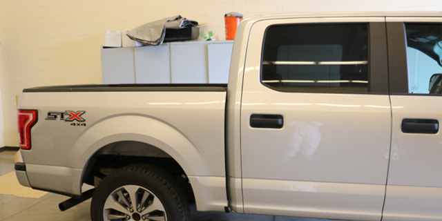 FBI says Lori Vallow, her brother and her children traveled to Yellowstone National Park on Sept. 8 in this Ford pickup