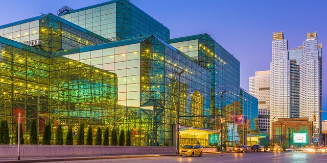 The Jacob K. Javits Convention Center on the west side of Manhattan may be used as a medical surge facility to deal with a spike in coronavirus cases.