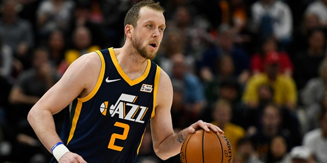 Joe Ingles is one of the top sharpshooters in the NBA. (Photo by Alex Goodlett/Getty Images)