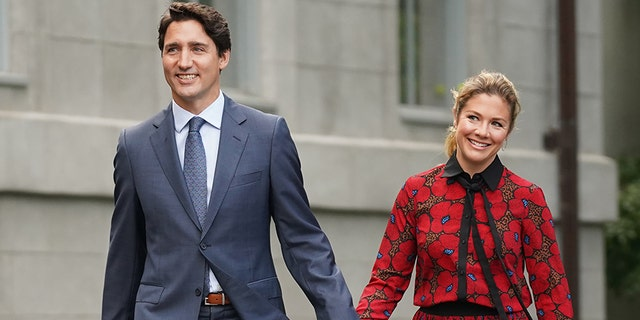 Prime Minister Justin Trudeau's wife, Sophie Grégoire Trudeau, tested positive for the coronavirus, officials said.