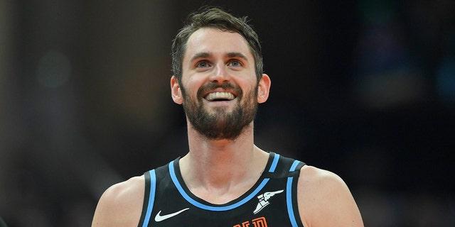 Cleveland Cavaliers forward Kevin Love. (David Richard-USA TODAY Sports)