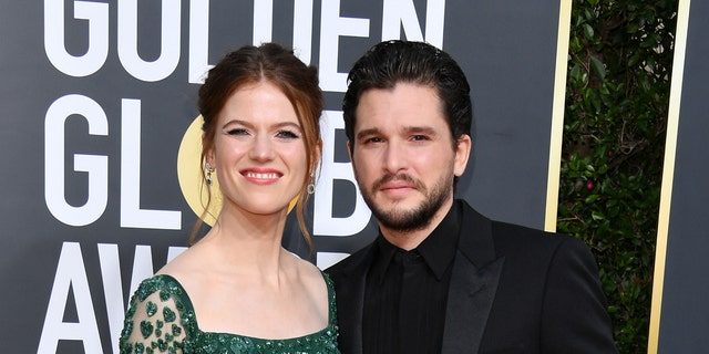 Rose Leslie and Kit Harington starred in 'Game of Thrones.' (Photo by George Pimentel/WireImage)