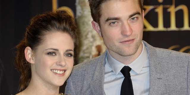 Kristen Stewart and Robert Pattinson co-starred in the 'Twilight' films. (Photo by Luca Teuchmann/WireImage)