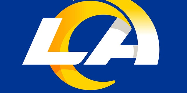 This graphic provided by the Los Angeles Rams shows a new stylized LA Rams logo, released by the NFL football team Monday, March 23, 2020. The Los Angeles Rams unveil their new logo and color scheme with somewhat less fanfare than originally planned. The team is mildly reconfiguring its look four years after returning home to LA, and a few months before moving into SoFi Stadium. New uniforms will follow later in the spring. (Los Angeles Rams via AP)