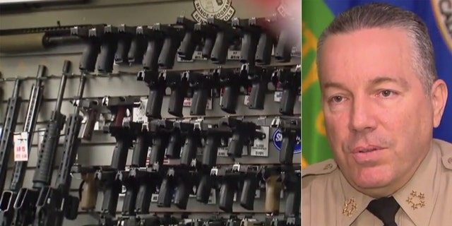 Los Angeles County Sheriff Alex Villanueva told FOX11 on Monday that gun shops in the county will be forced to close because they are not an essential business.