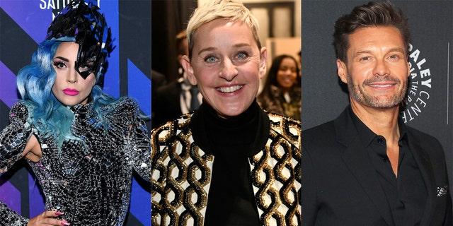 Lady Gaga, Ellen DeGeneres and Ryan Seacrest will appear in FOX's coronavirus benefit special.