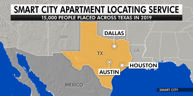 Smart City is an apartment locating company that operates in three cities in the State of Texas.