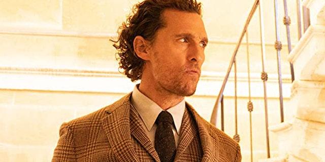 """Matthew McConaughey in """"The Gentlemen."""""""