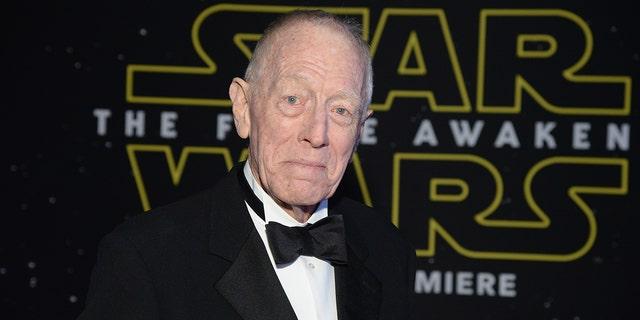 Actor Max von Sydow has died at age 90.