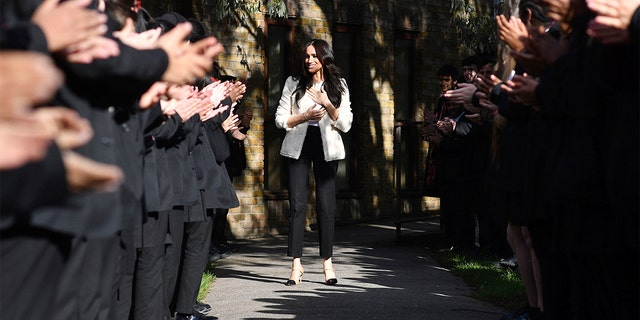 Westlake Legal Group Meghan-3 Meghan Markle gives International Women's Day message to men Frank Miles fox-news/world/world-regions/united-kingdom fox-news/world/personalities/british-royals fox-news/topic/royals fox-news/entertainment/celebrity-news/meghan-markle fox news fnc/entertainment fnc d9ce63cf-80b2-51c0-aeea-805353742174 article